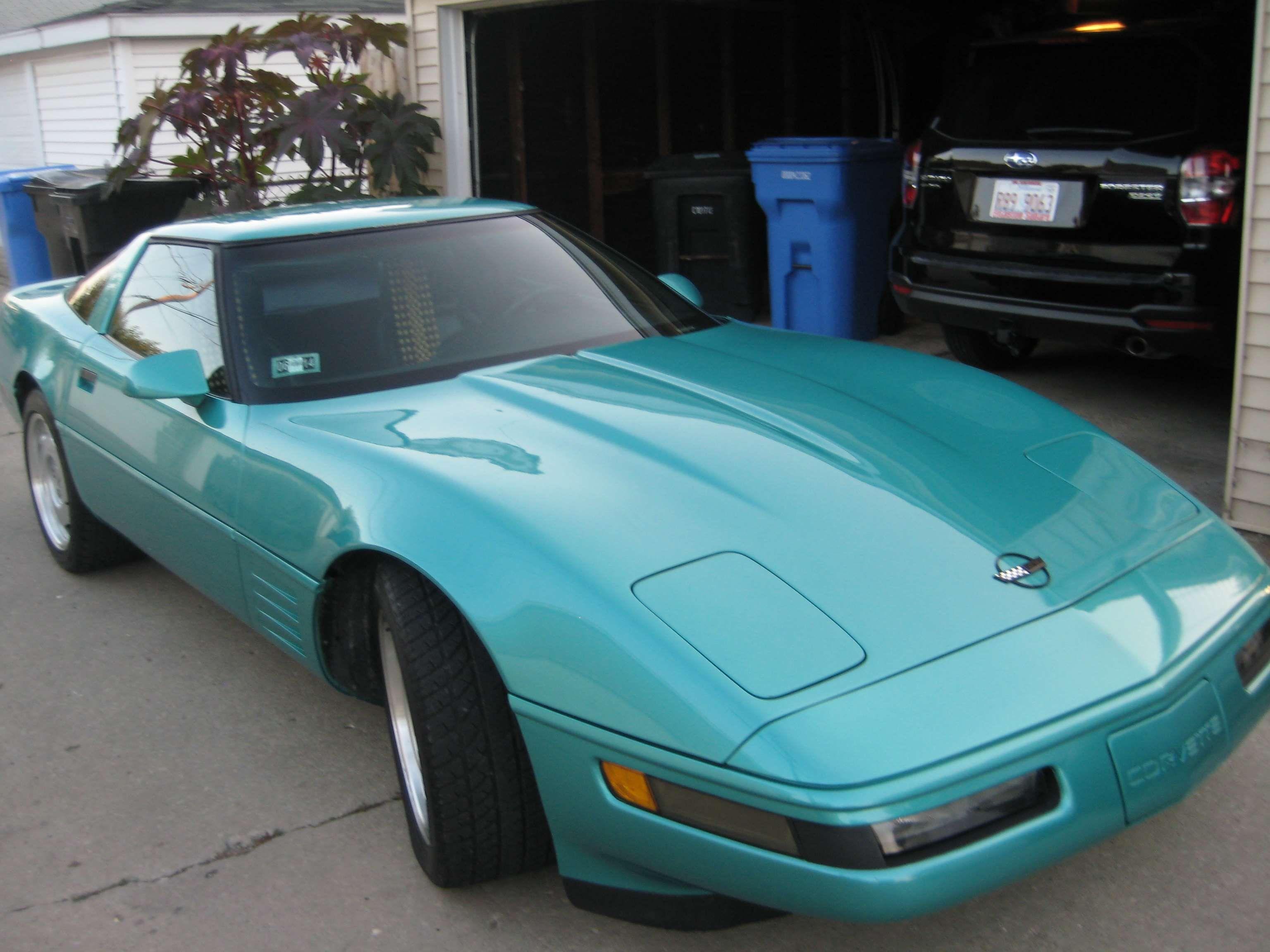 Make: Chevrolet Model: Corvette Year: 1991 Exterior Color