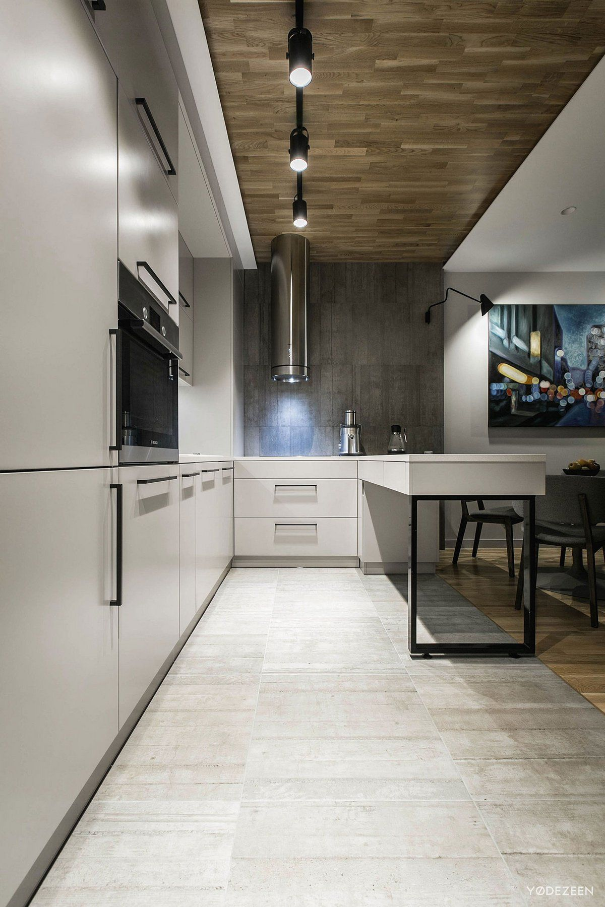 деревянный паркет в квартире фото, серые стены в квартире ...