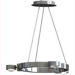Photo of Top Light Puk Crown Pendelleuchte chrom S 6x Glas matt Standard-Fassung Top Light