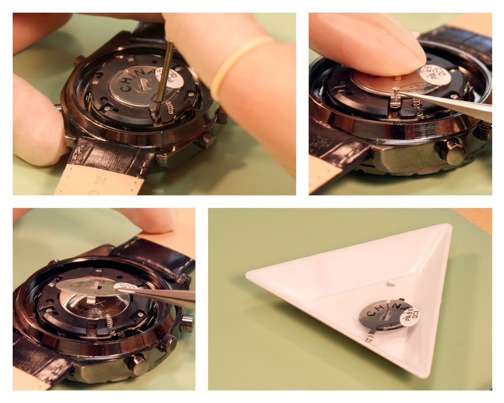 How to Replace Two Stacked Watch Batteries Watch Band