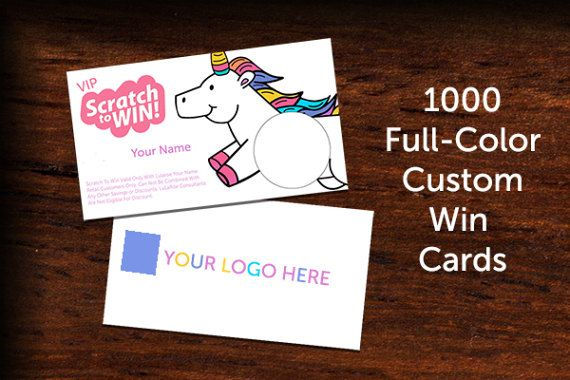 Custom scratch and win consultant promotional cards standard custom lularoe scratch and win consultant promotional cards colourmoves