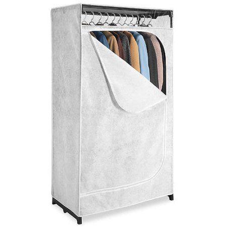 Ordinaire Whitmor White 36 Inch Clothes Closet   Walmart.com