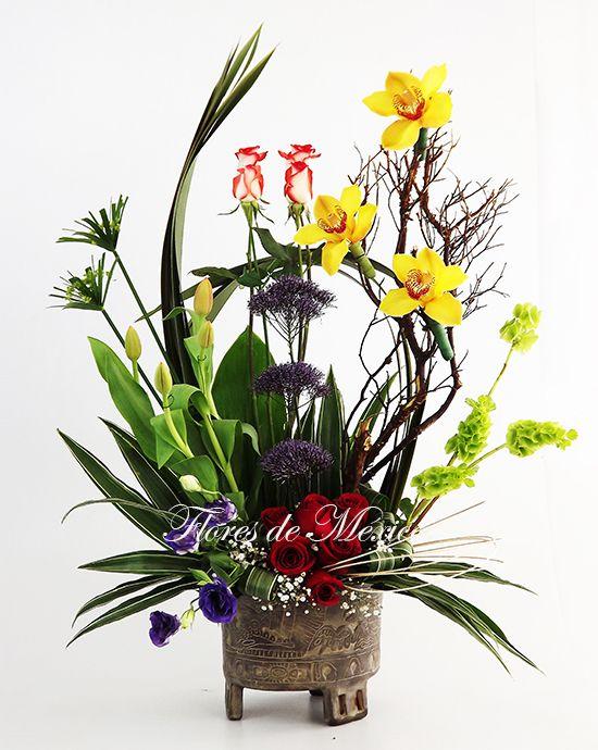 arreglos florales exoticos con bambu - Buscar con Google arreglos