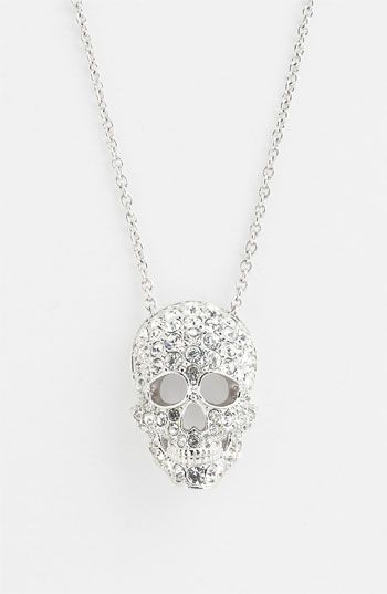 Nadri Skull Pendant Necklace Nordstrom Exclusive Nordstrom Skull Pendant Necklace Skull Pendant Skull Accessories