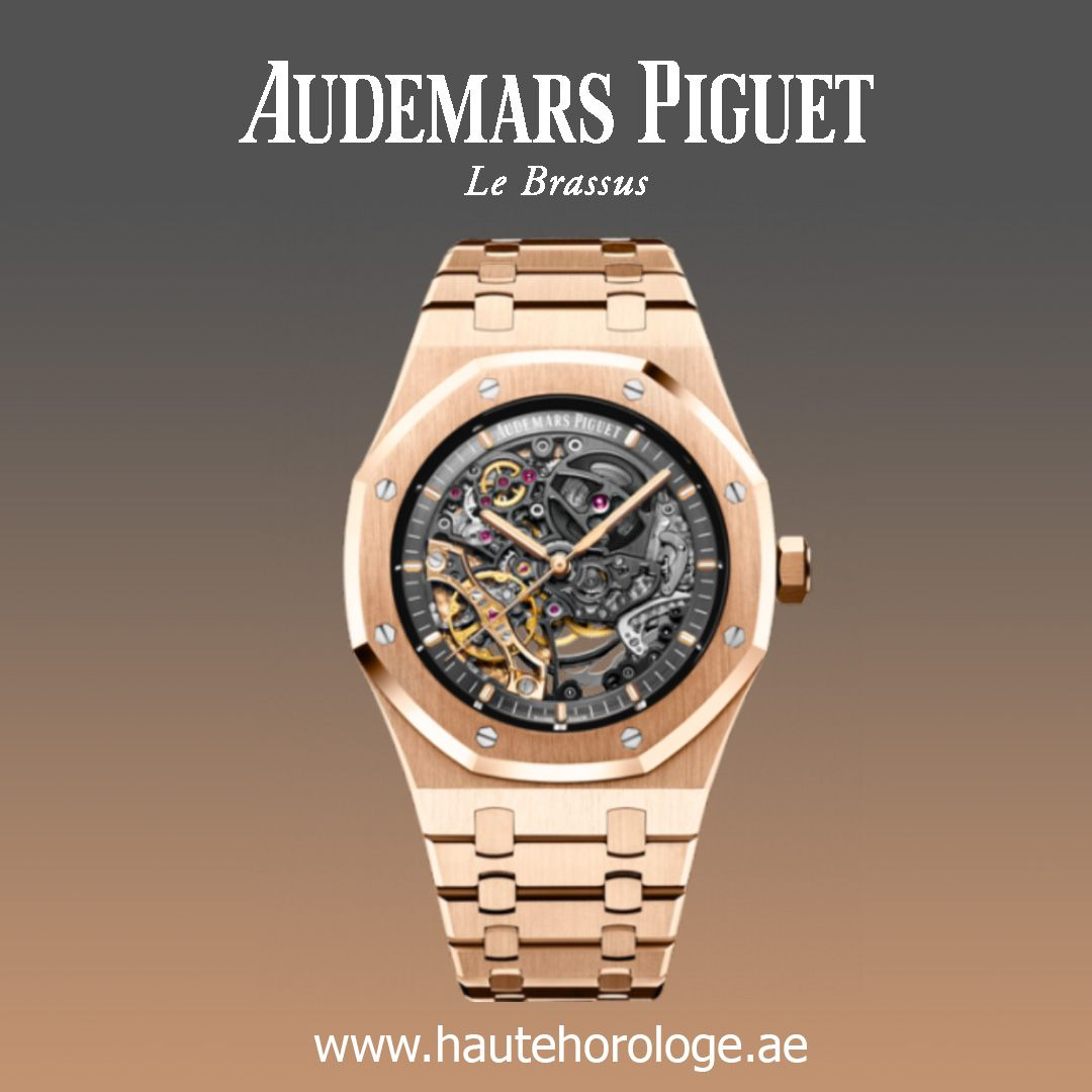 Audemars Piguet Royal Oak Double Balance Wheel Openworked Mens Watches 15407or Oo 1220or 01 Dubai Watches For Men Audemars Piguet Audemars Piguet Royal Oak