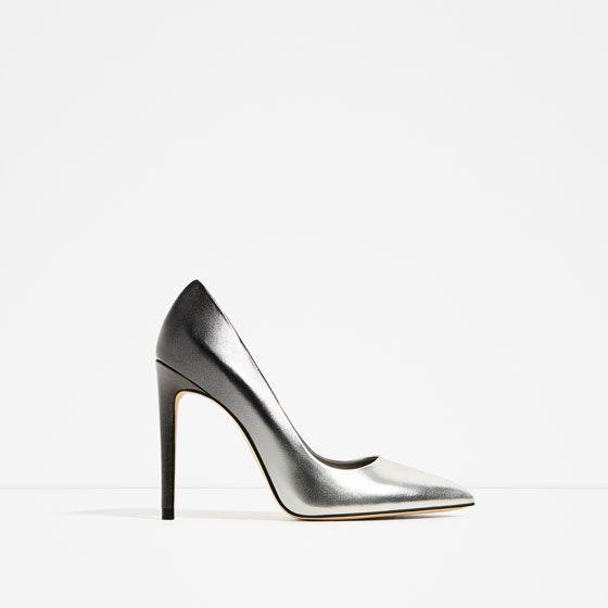 2a3bb49a6 Imagem 2 de SAPATO TACÃO DEGRADÊ da Zara | Shoes ❤ | Absatzschuhe ...