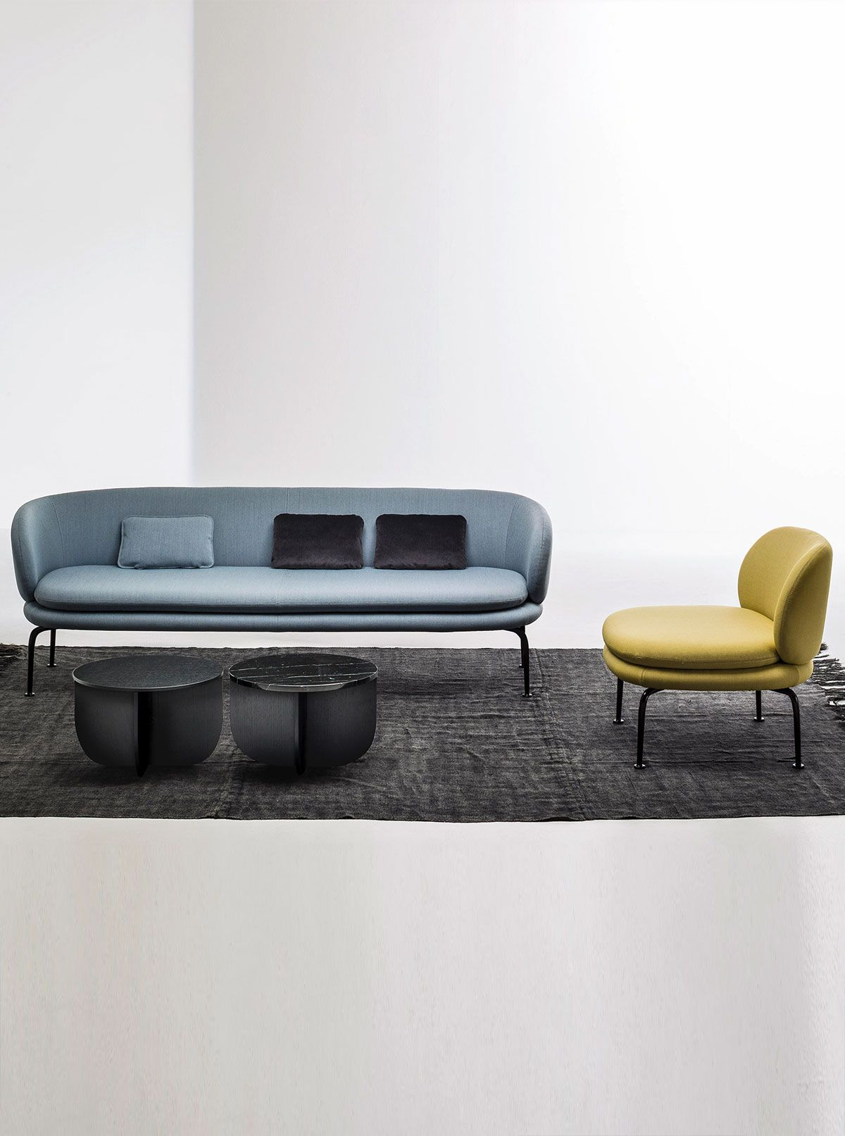 Soave By La Cividina Modern Armchairs Comfy Living Room Furniture Furniture Stylish Sofa
