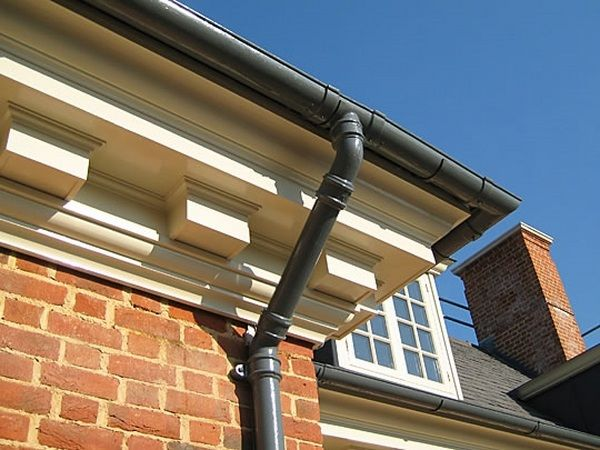 types of residential rain gutters - Google Search