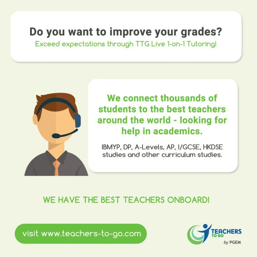 Our online education platform allows student to progress at their won pace. Increase your motivation to succeed, visit www.teachers-to-go.com