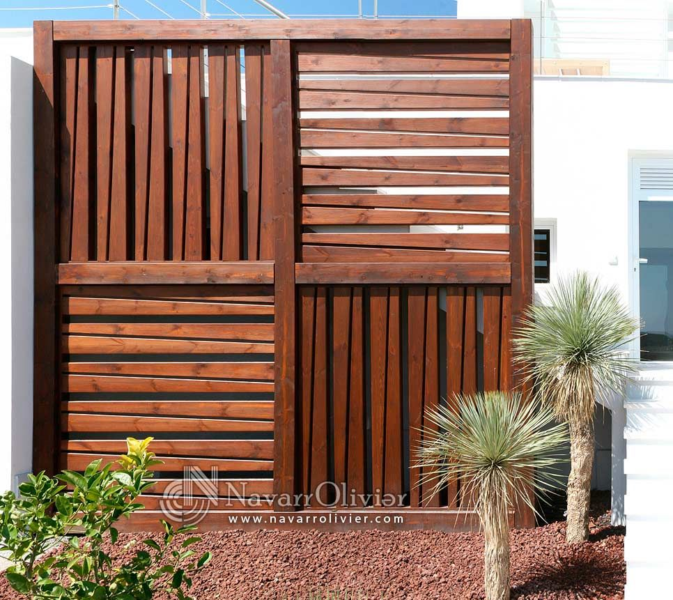 Estructura de madera decorativa estilo minimalista for Estilo minimalista