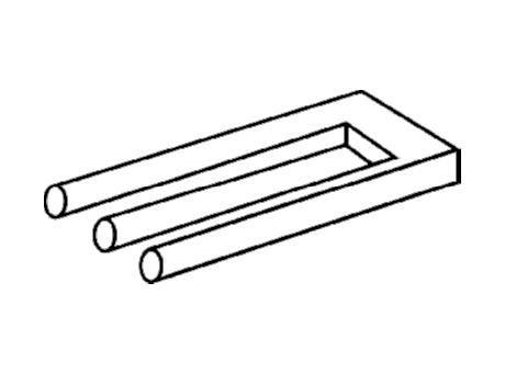 blivet ou poiyut ou fourche du diable ou trident impossible op le vertige optique pinterest. Black Bedroom Furniture Sets. Home Design Ideas