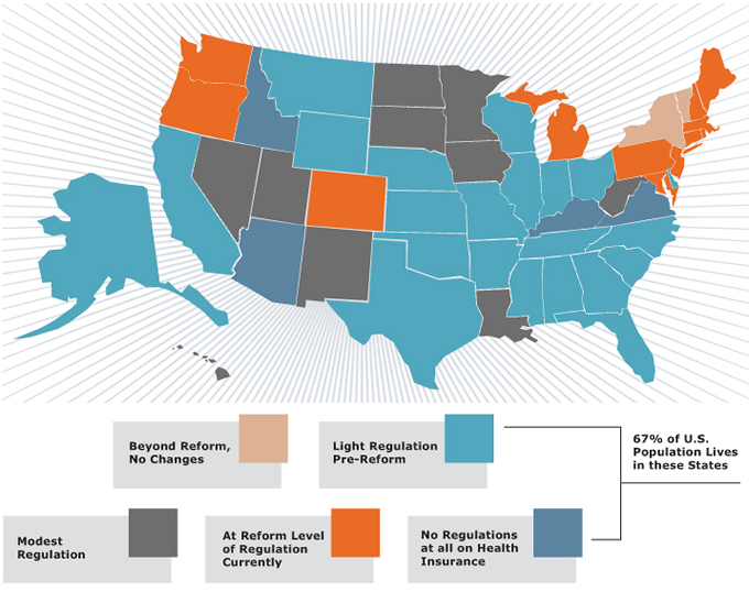 The Degree To Which Ppaca Reforms Are Felt Will Vary From State To