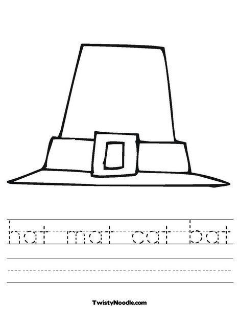 Hat Mat Cat Bat Worksheet From Twistynoodle Com You Re Invited Invitations Bat Mat