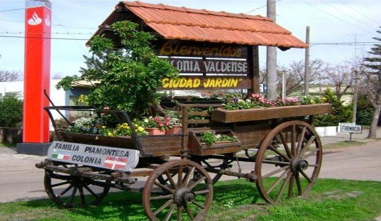 #ColoniaValdense tracce di #Piemonte in #Uruguay