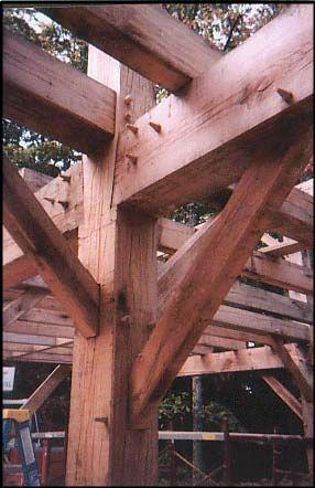 Image Gallery Amishtimberframers.com #timberframe | Construction ...