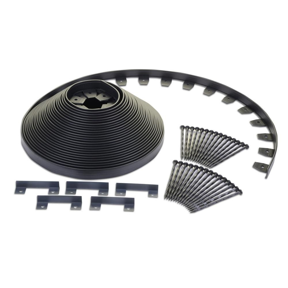 Proflex No Dig 100 Ft Heavy Duty Edging Kit Edging And 400 x 300
