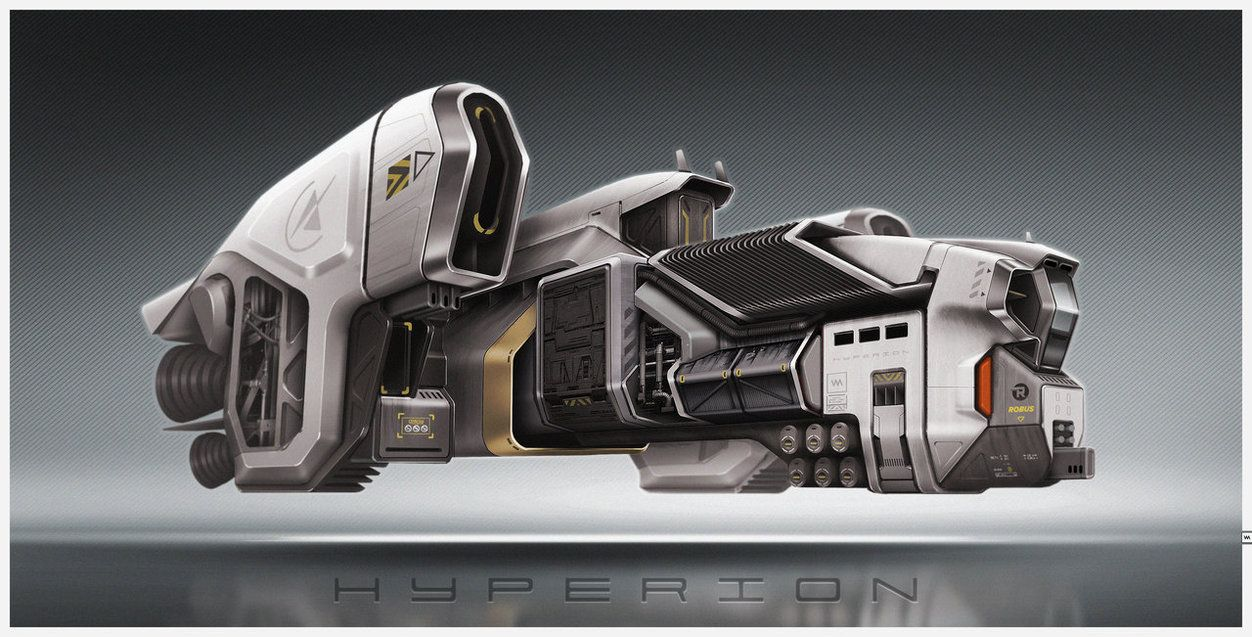 ROBUS Hyperion by IllOO on DeviantArt