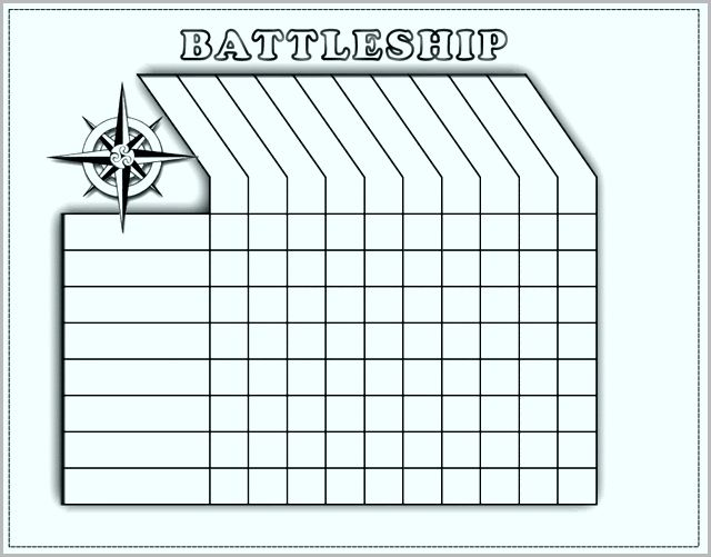Battleship Game Board Template Awesome Game Resources Ywaot German