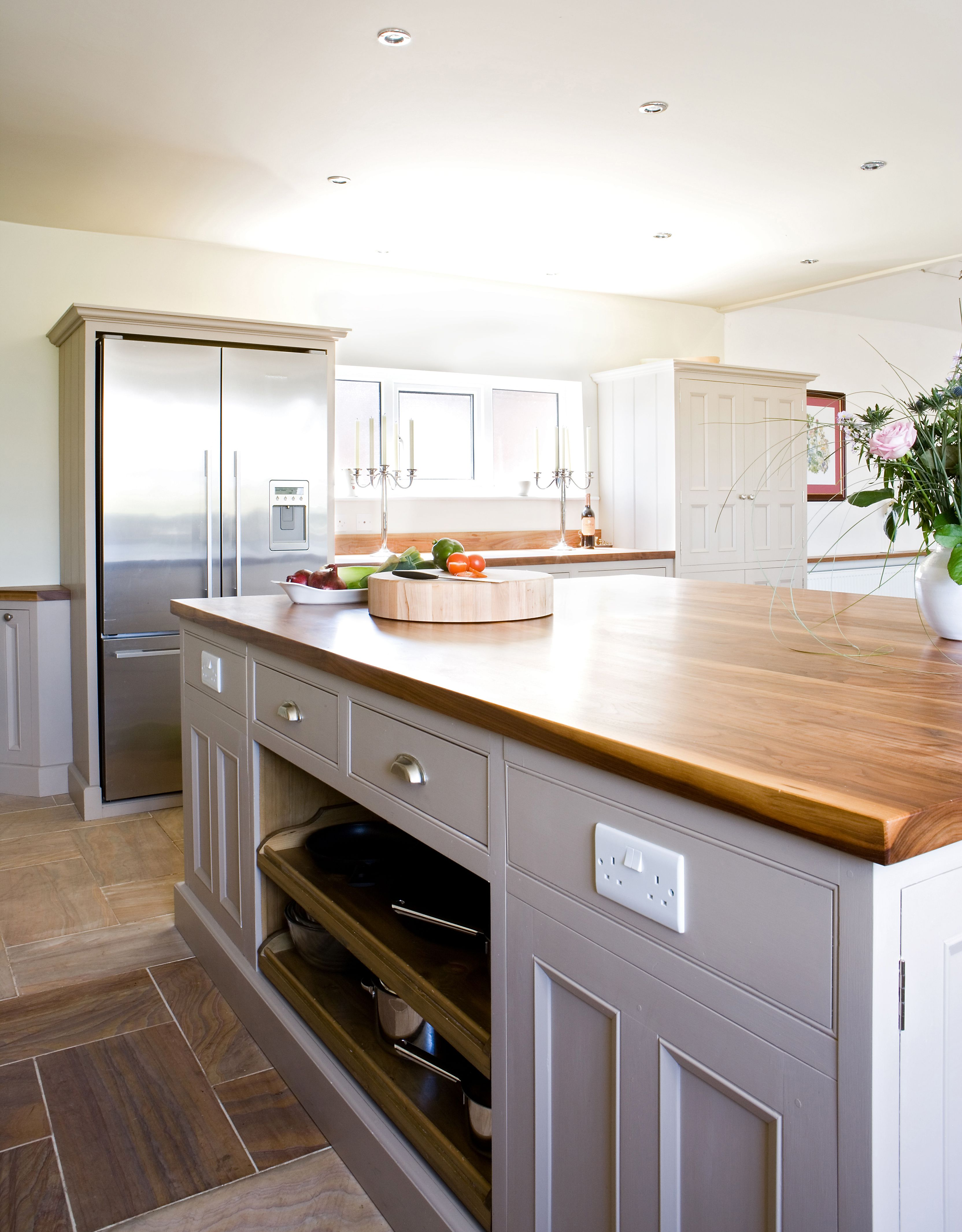 Sleek And Sophisticated This Artisan Built Kitchen Creates An Instant Impression