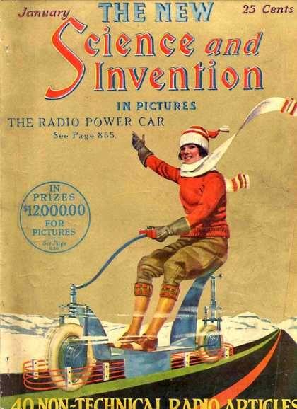 Science And Invention 1 1924 Inventions Retro Futurism Science