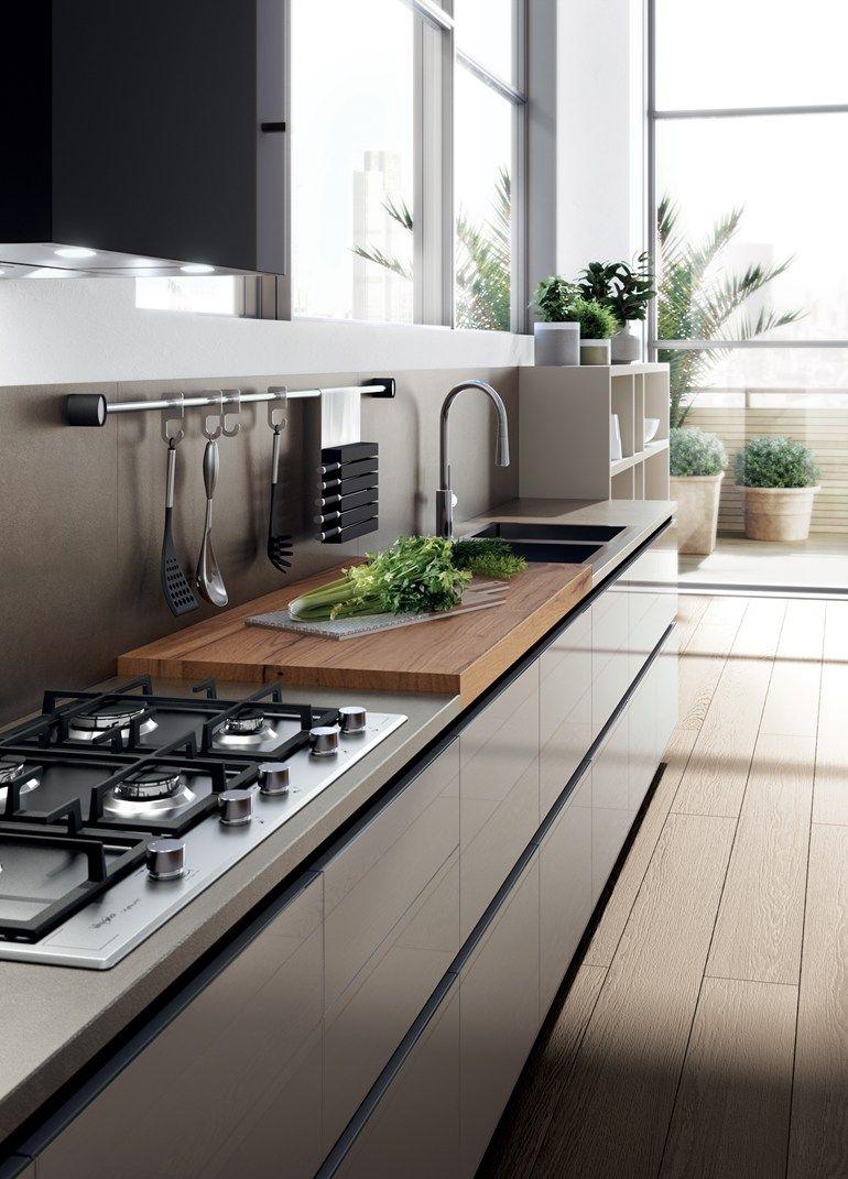 Fitted kitchen TETRIX by Scavolini Scavolini kitchens