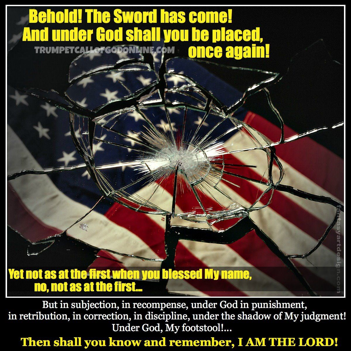 """Volume 7 """"Thus Says The Lord to the United States, and to All the Churches of Men Which Dwell Within Its Borders: Return to Me! Stand Up or Bow Down!... Call Out, Cry and Wail!"""" ~TrumpetCallofGodOnline"""