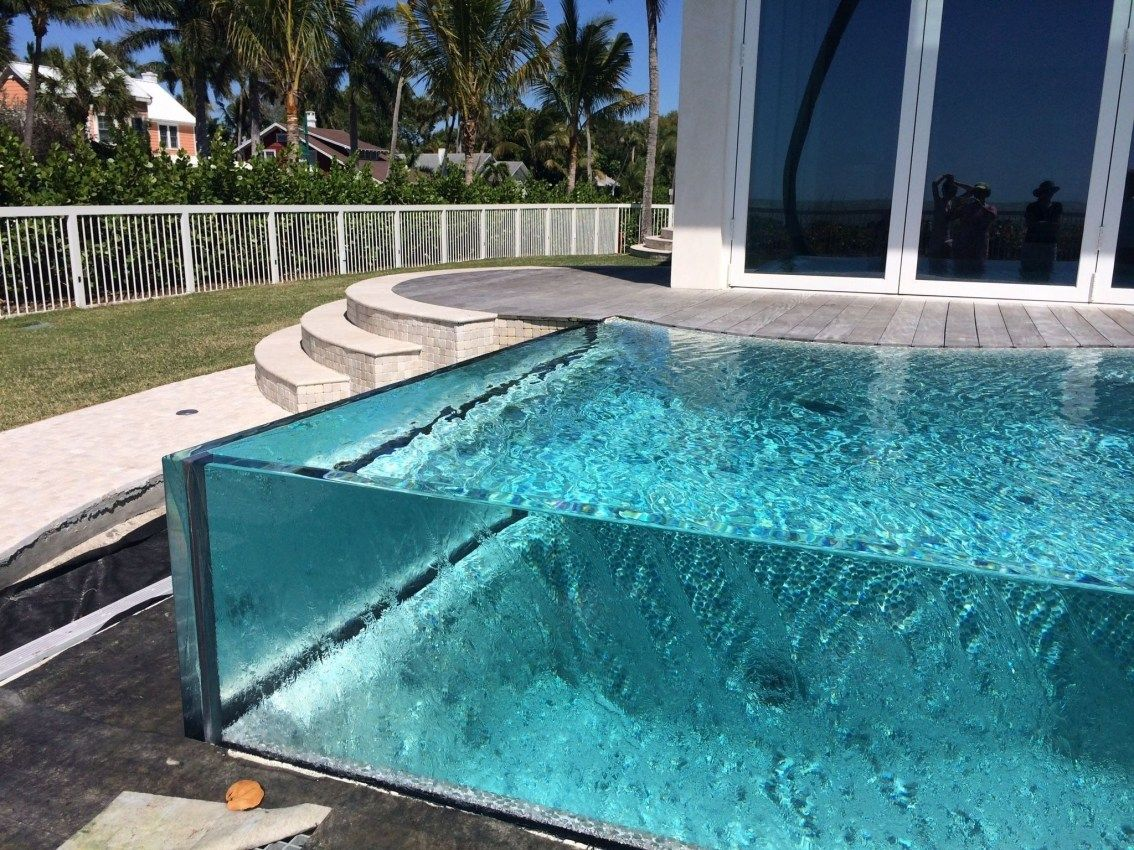 Amazing Glass Pool Design Ideas For Home08 Zyhomy Glass Pool Indoor Outdoor Pool Luxury Swimming Pools