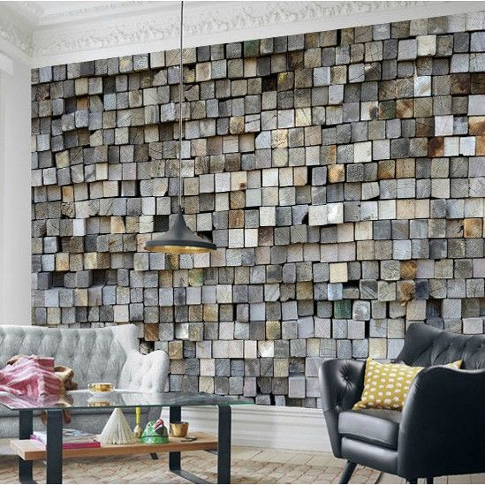 Custom 3d Photo Relief 3d Stereo Personality Retro Wood 3d Wallpaper Mural Bar Room Tv Backdrop 3d Wallpaper Building Supplies Living Room Tv 3d Wallpaper