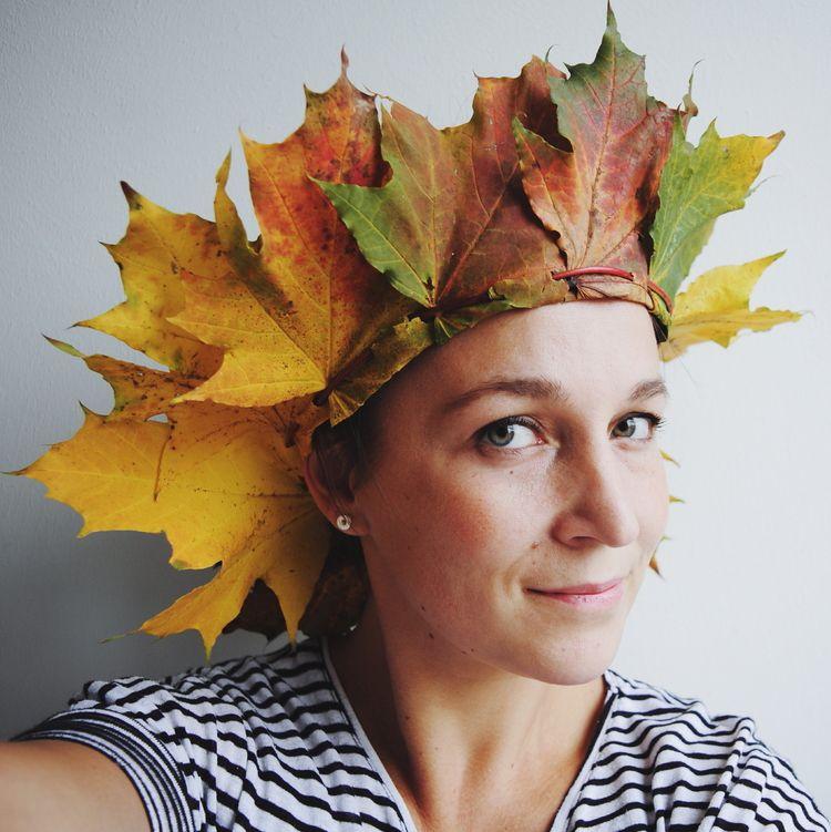Leaf crown tutorial — Nininoes