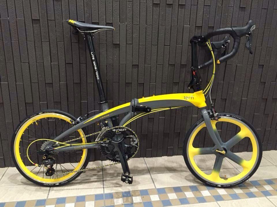 Areospoke And Tern Folding Bike Baisikel Sepeda Dan Olahraga