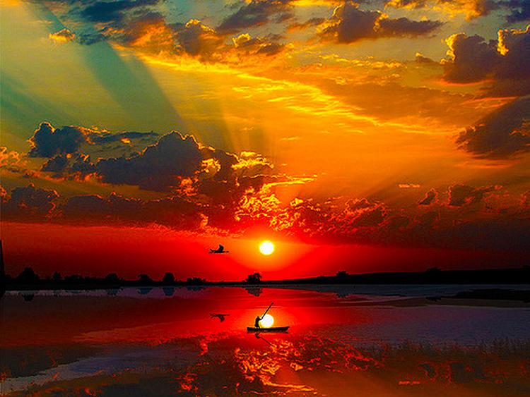 Beautiful Sunset....... | Amazing Places | Pinterest