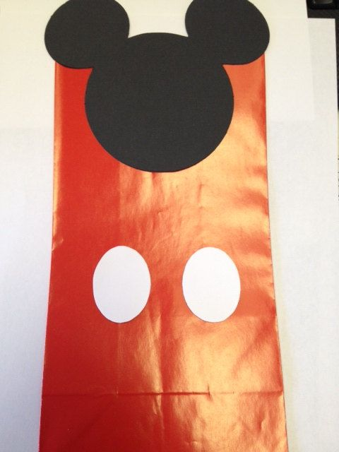 10 Mickey Mouse Treat bags / Goody bags Party by Busyisthenewhappy, $7.00