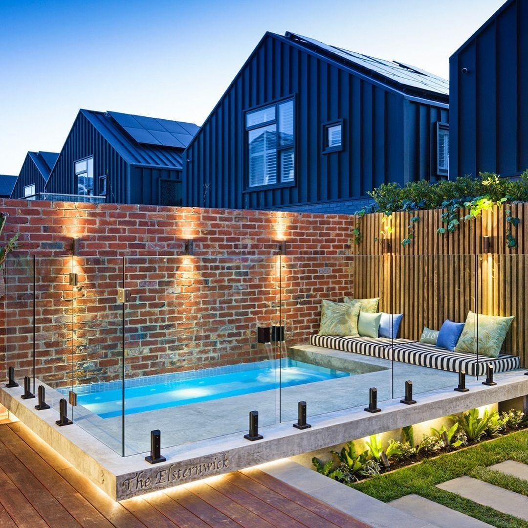 45 Awesome Small Pool On Backyard Small Backyard Pools Backyard Pool Designs Swimming Pool Designs