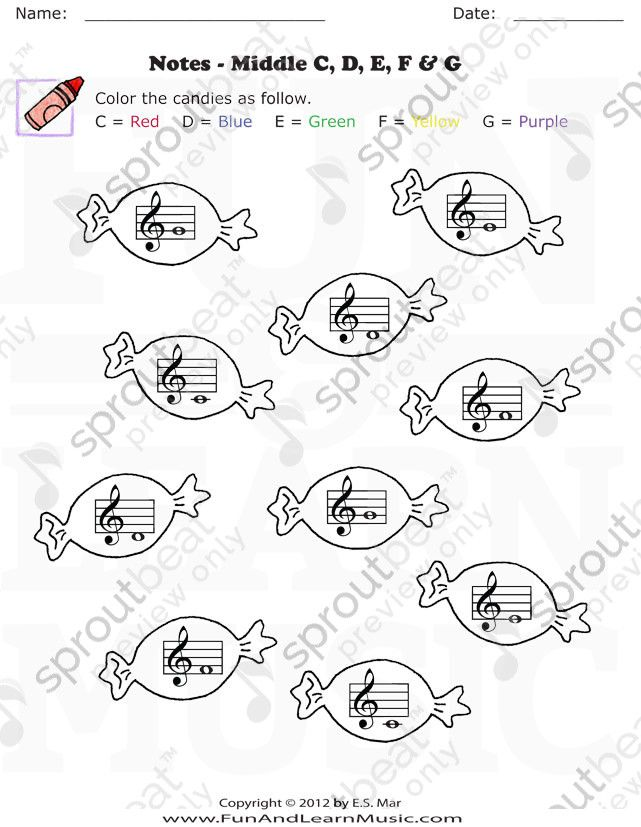 Music Worksheet Categories Note Reading (With images)