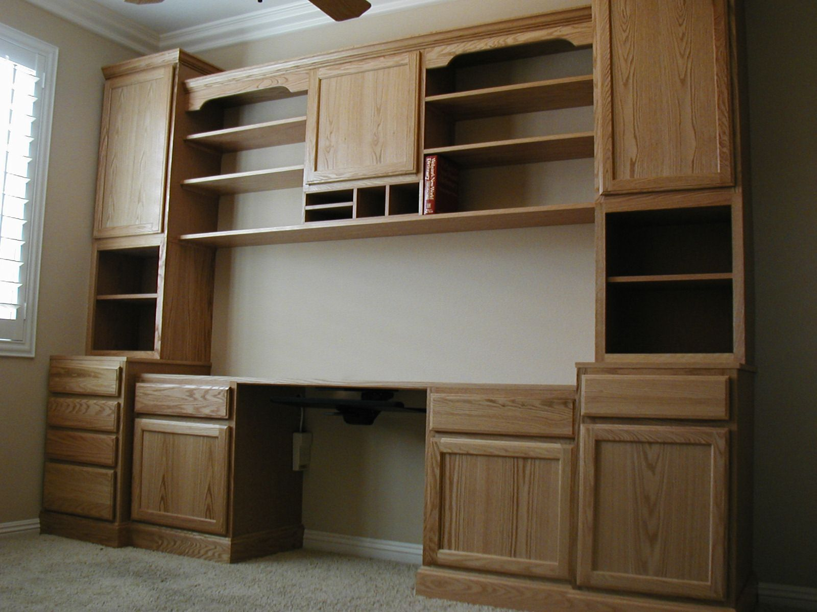 home office cabinetry design. Office  Workspace Home Library Valspar Paint Kitchen Cabinets Colors Design Architecture