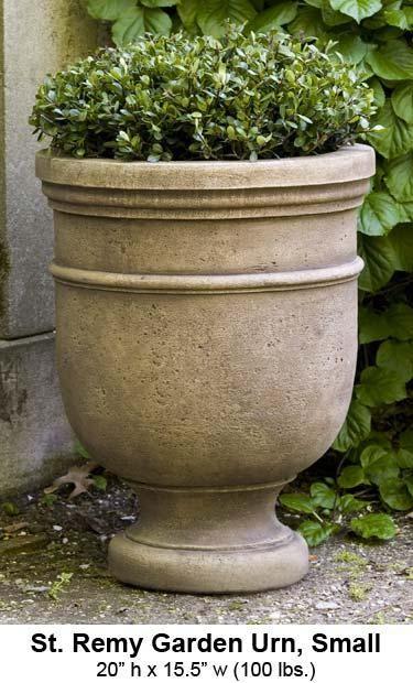 Superieur Garden Planters Cast Stone Garden