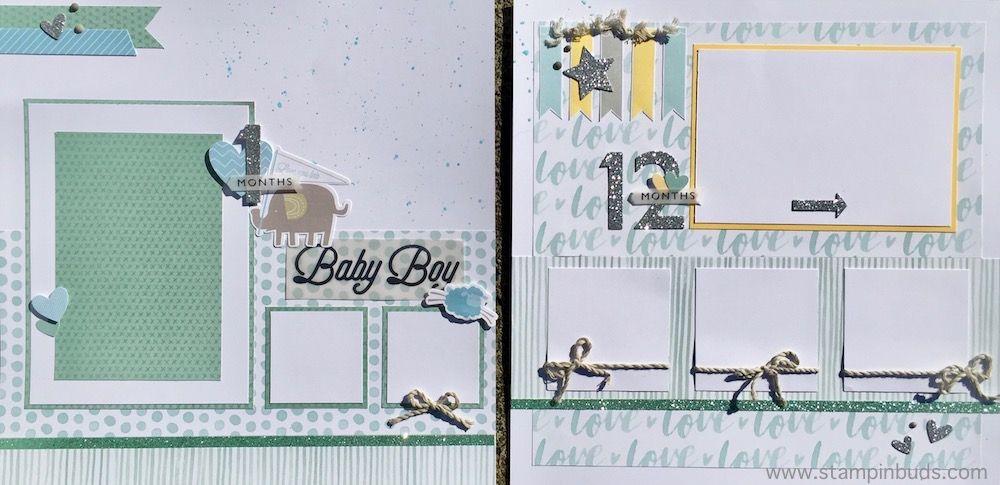 Whimsy Handmade Baby Boy Album CTMH Whimsy Fundamentals Handmade