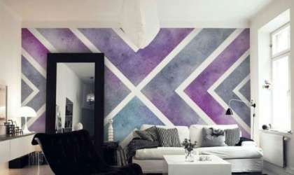 21 Creative Wall Art Ideas To Spruce Up Your Space Purple