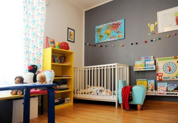 Como usar o cinza em quartos de bebê - Bebê.com.br