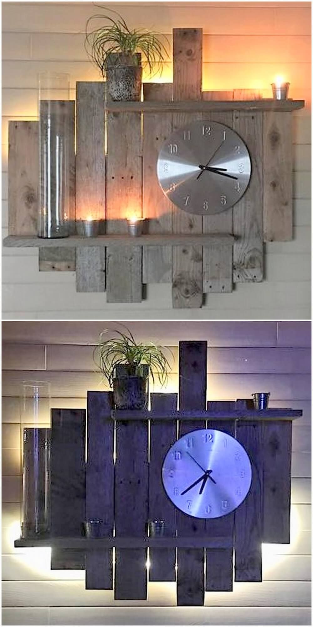 Different Diy Ideas For Wood Pallets Reusing Wood Pallet Wall