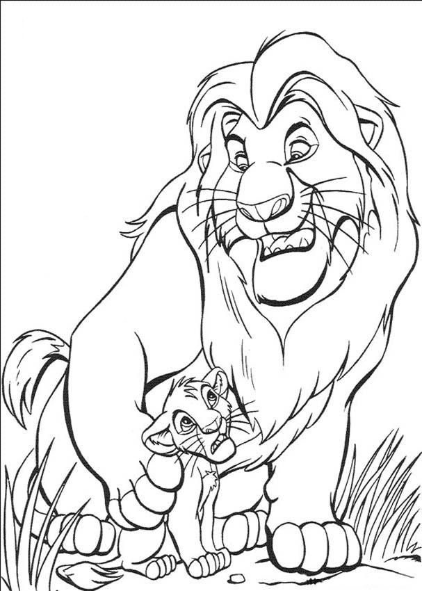 Lion Coloring Pages Printable Lion Coloring Pages Coloring