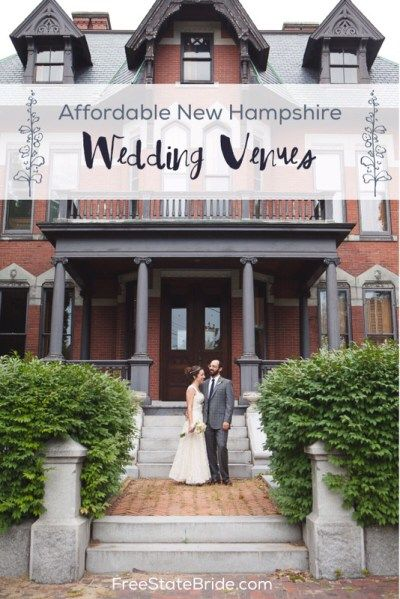 Affordable New Hampshire Wedding Venues