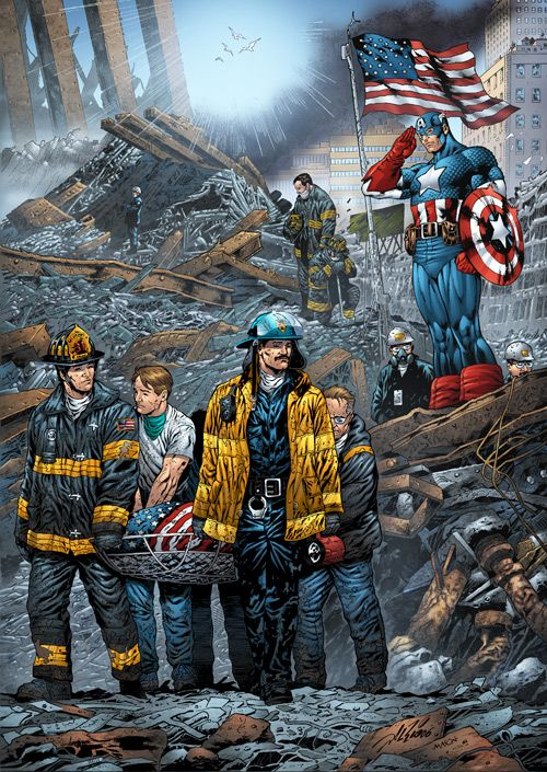 marvel comics 9/11 issue