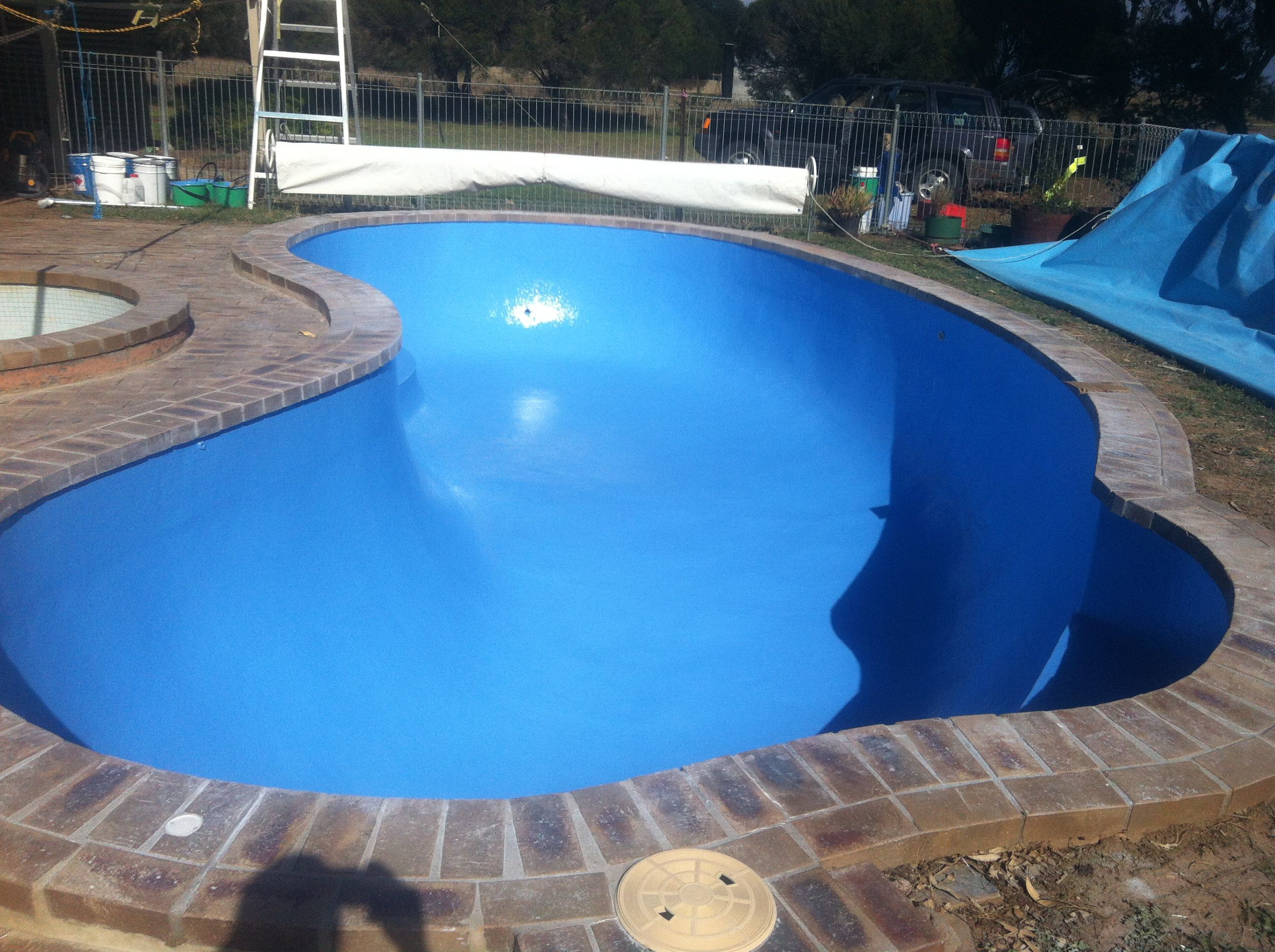 Marblesheen pool, transformed with Fibreglass
