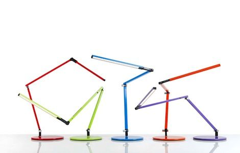 Ultra Thin Desk Lamps By Koncept Led