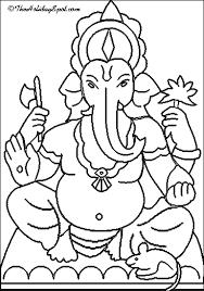 Ganesh Drawing For Kids : ganesh, drawing, Image, Result, Ganesh, Drawing, Diwali, Drawing,, Mandala, Design, Festival