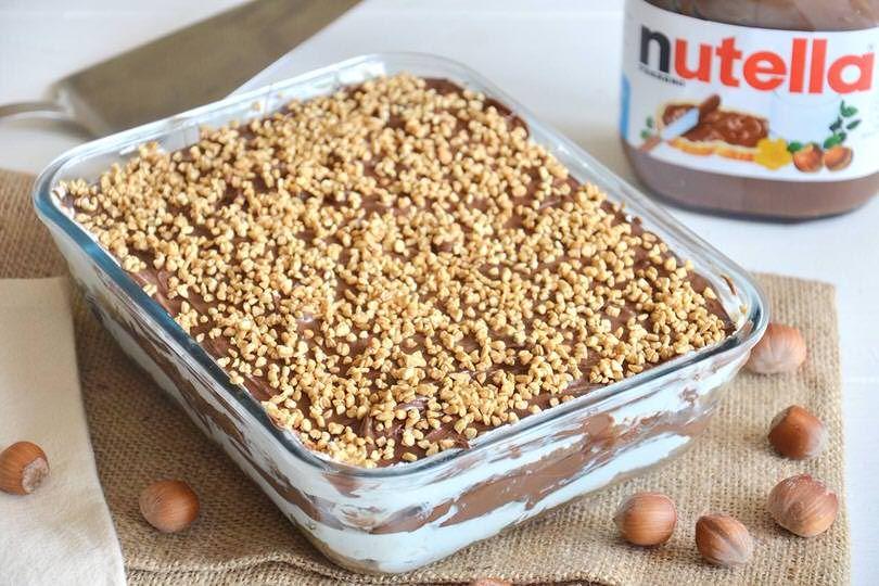 Ricetta Tiramisu Di Misya.Tiramisu Alla Nutella Ricetta Ricette Ricetta Del Tiramisu Ricette Dolci