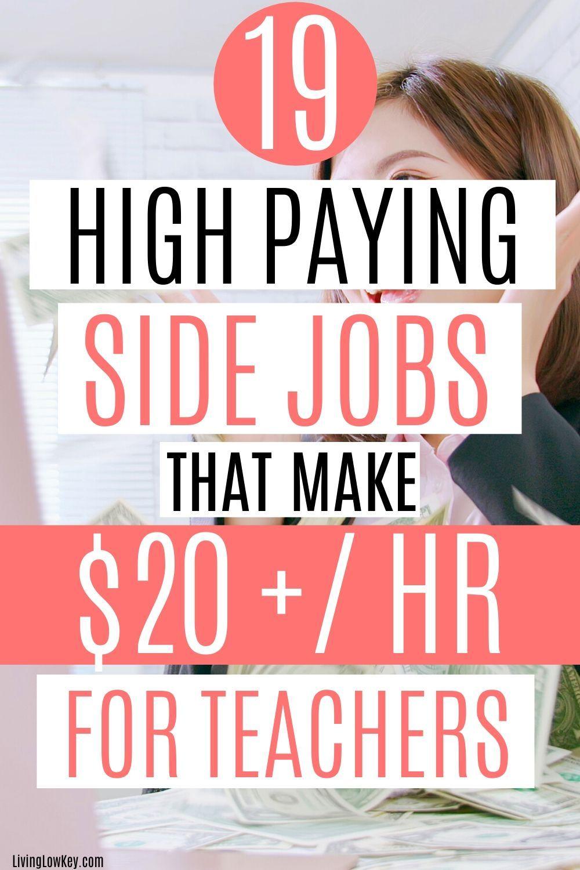 15 Easy Side Jobs For Teachers (The Best Summer Gigs) in