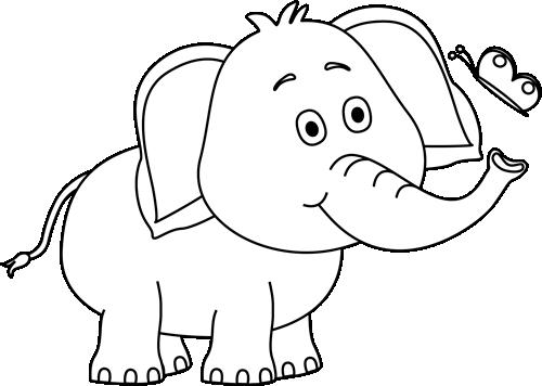 So Cute Elephant Clip Art Elephant Images Elephant Drawing