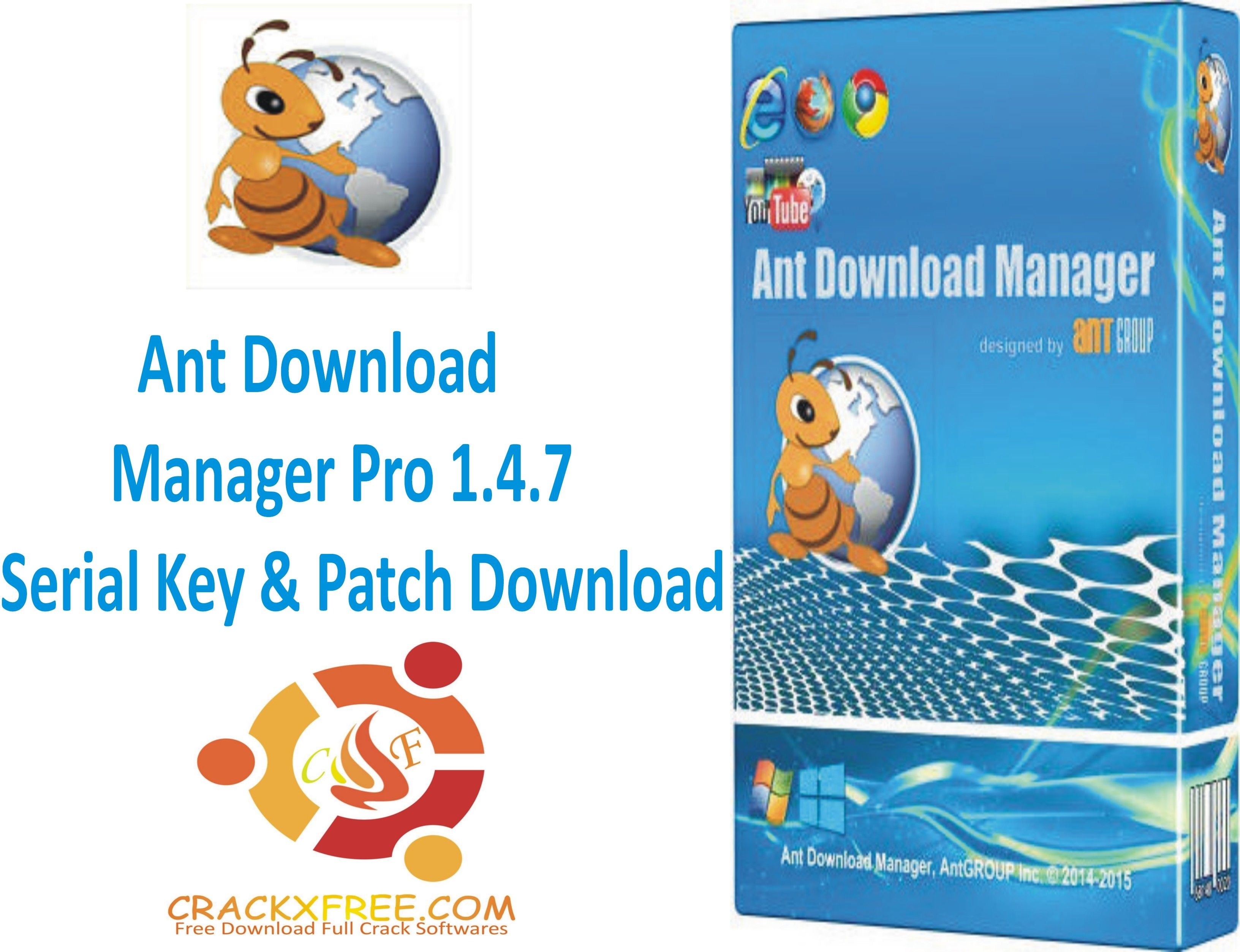 Ant Download Manager Pro 1.4.7 Serial Key & Patch Download #Ants ...